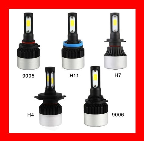 автомобильные лампы Led лед H1,H3, H4, H7, H11