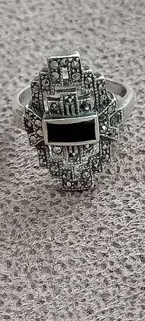 Кольцо капельное серебро