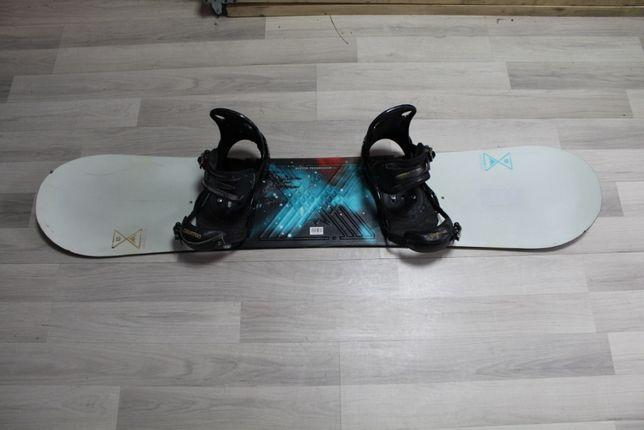Deska Snowboard BURTON PROGRESSION 142 cm + Wiązania BURTON