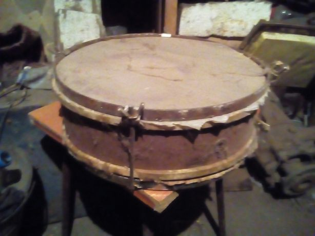 Барабан пионерский под реставрацию