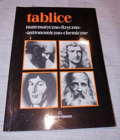 Tablice matematyczne fizyczne astronomiczne chemiczne