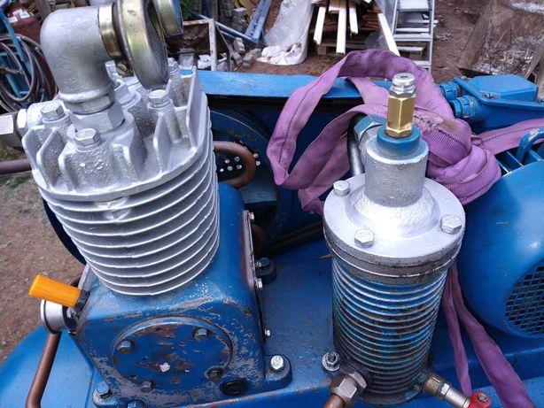 Kompresor sprężarka WAN po kapitalnym remoncie, po testach