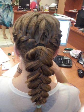 Прически колоски косы