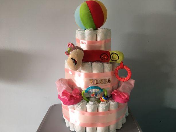 Spersonalizowany tort z pampersów