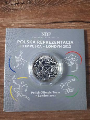 Polska Reprezentacja Olimpijska Londyn 10 zł 2012