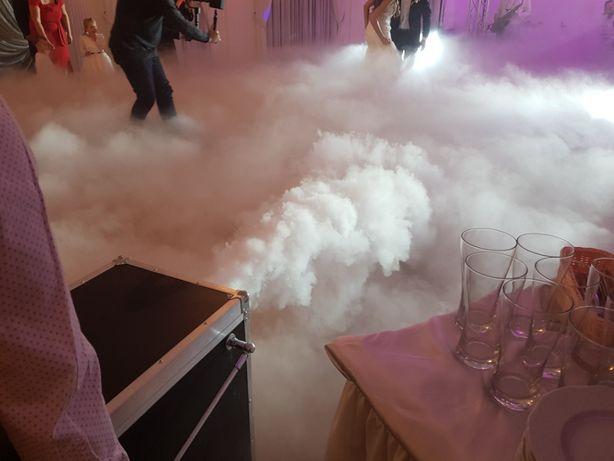 Taniec w chmurach, ciężki dym