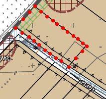 Działka budowlana 2800 m2 + drogi: pod 3 domy lub 2 bliźniaki