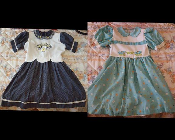 vestido para menina de 10 anos - cerimonia - azul / verde