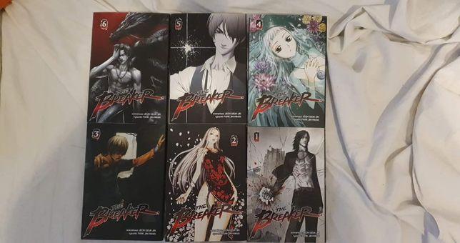 Manga  mangi the breaker 1-6 tomów