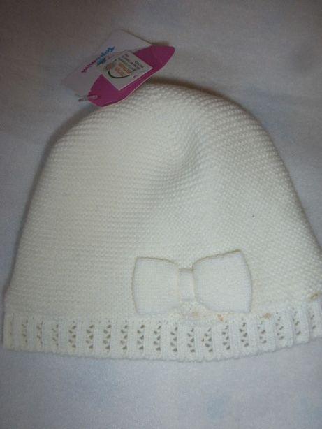 Милая шапочка на флисе 46-48, см, Topomini