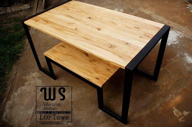 Ława stolik kawowy LOFT stolik loftowy WS