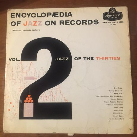 Disco vinil Encyclopaedia of Jazz on records - vol 2
