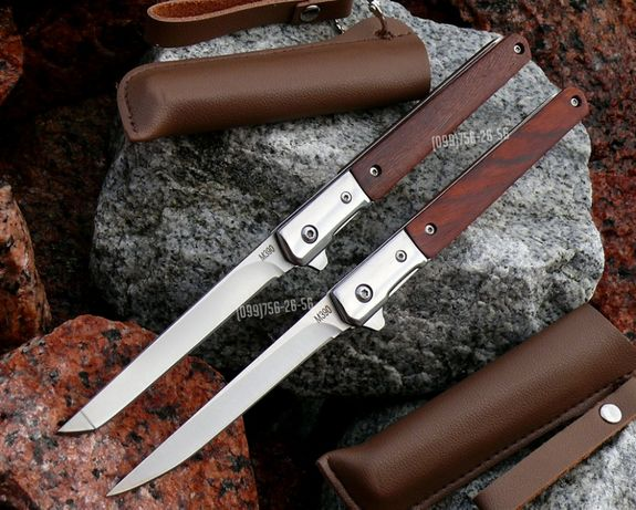 Нож складной полуавтомат Флиппер M390 Flipper раскладной, охотничий