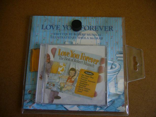 Livro e CD Love you forever