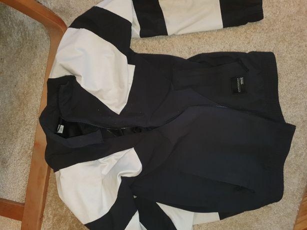 Kurtka Adidas bialko czarna