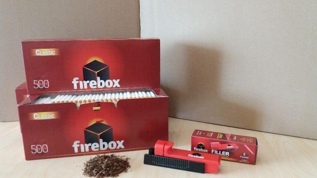 Гильзы для сигарет Firebox 500шт Лучшая цена Сигаретные гильзы