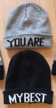 Dwie czapki zimowe Sinsay