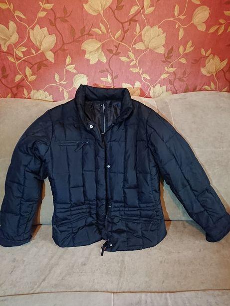 Куртка осіння з пір'ям