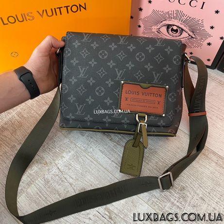 Мужская сумка через плечо Louis Vuitton Луи Виттон