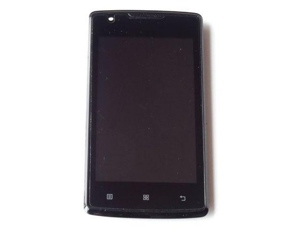 Lenovo A1000 Black Оригинал Модуль (Дисплей + сенсор +рамка LCD+touch