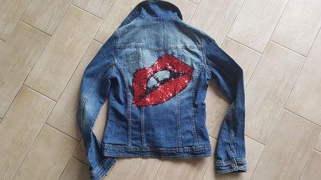 Kurtka katana jeans S  USTA