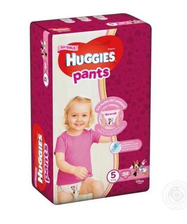 Підгузки-трусики для дівчаток Huggies Pants 5 (12-17 кг) 34 шт