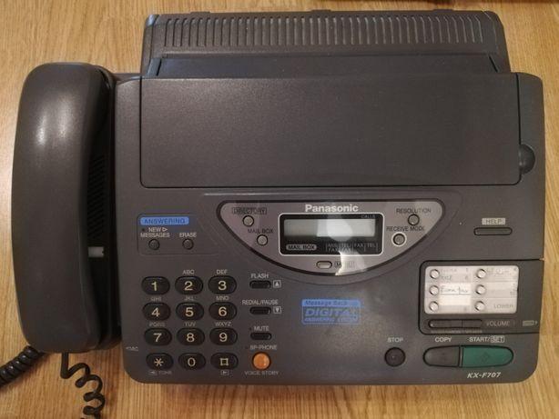 Telefon z faxem i sekretarką