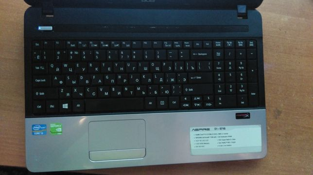 Ноутбук Acer V3-571G I7 8GB 730M 4GB 240SSD