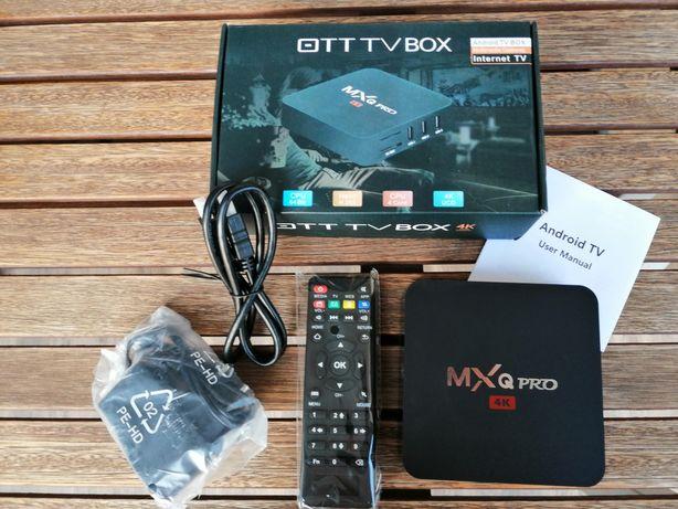 TV Box MXQ PRO Android Netflix Youtube PLAYER TVP GRY polskie menu