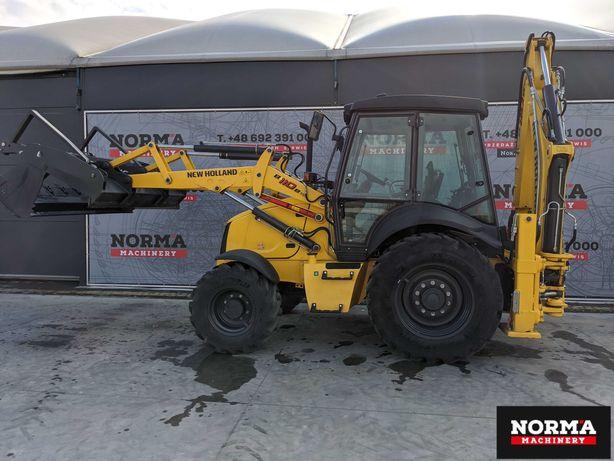 Koparko-ładowarka New Holland B110B, Nowa maszyna