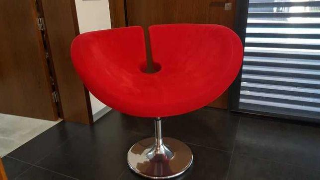 Poltrona cadeira vermelha