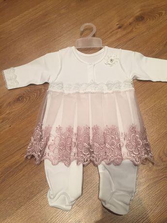 Крестильное платье для новорожденных Цена:800₽