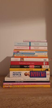 Książki o ciąży i wychowaniu