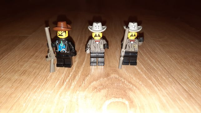 Lego figurka oryginał western szeryf