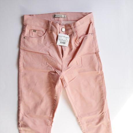 Новые розовые узкие джинсы WAIKIKI