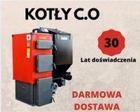 80 m2 KOTLY 12 kW Piece z PODAJNIKIEM na EKOGROSZEK Kociol 9 10 11