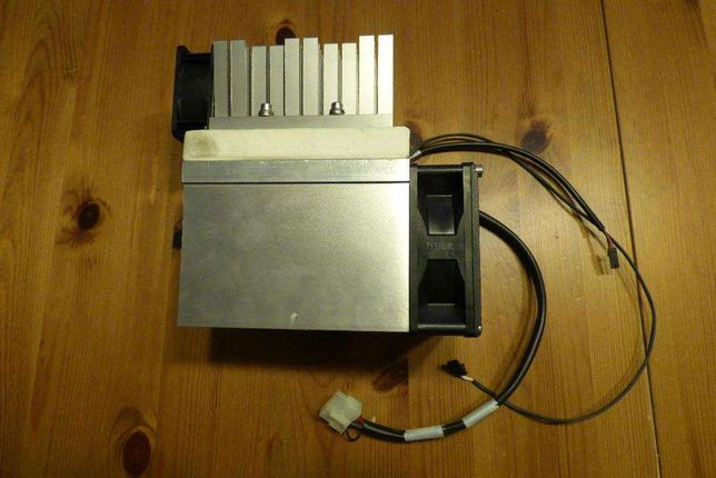 radiator – układ z wentylatorami