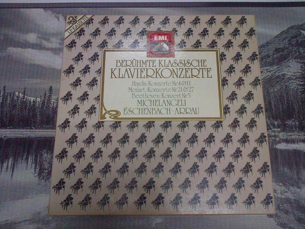 Beruhmte Klassische Klavierkonzerte Haydn Mozart 3xLP Vinyl 1987