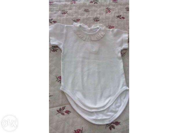 Bodie em algodão 6m - Laranjinha