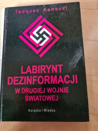 Labirynt dezinformacji w drugiej wojnie światowej  Konecki