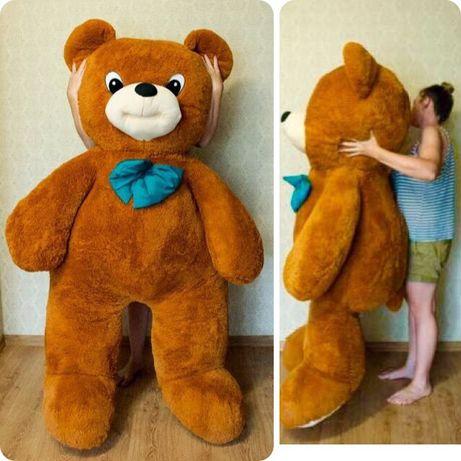 185 см! САМЫЙ Большой Плюшевый Медведь Игрушка М'який мишка Ведмідь