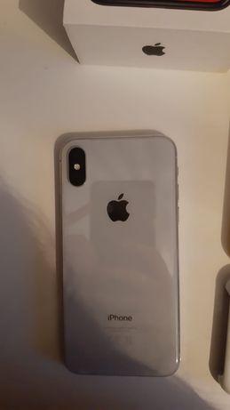 iPhone X 256GB Silver Biały