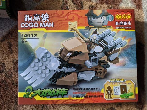 Детский конструктор COGO MAN боевые колесницы 129-140 деталей