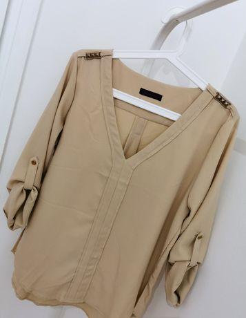 Beżowa koszula S/M/L