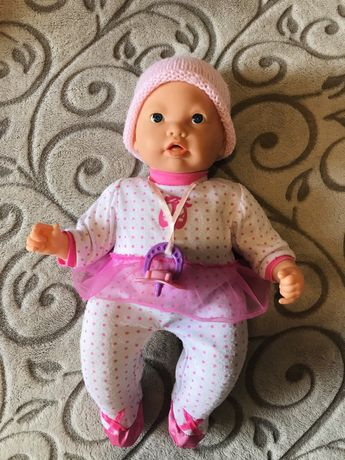 Интерактивная кукла пупс пупсик лялька из Англии мимика