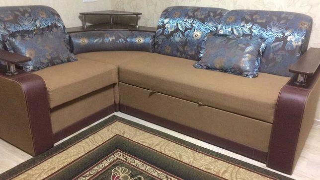Угловой диван в идеальном состоянии