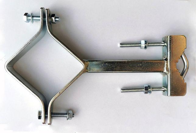 Uchwyt masztu odskocznia 120mm - 2 sztuki komplet