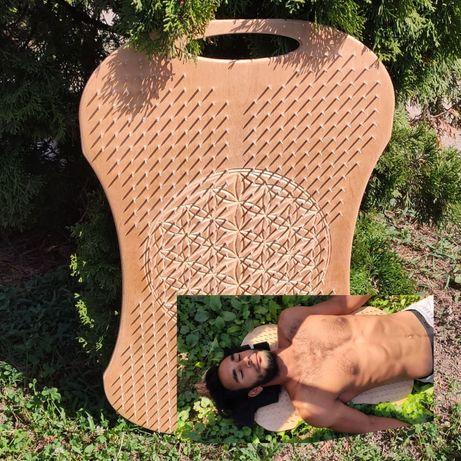 Доска Садху с гвоздями для спины 20мм