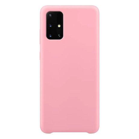 Capa Silicone Traseira Case Soft Flexible Rubber Cover Xiaomi Poco X3 Nfc / Poco X3 Pro Cor-De-Rosa