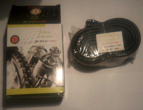 """камера велосипедная 24""""х2.125 BUTYL TUBE"""